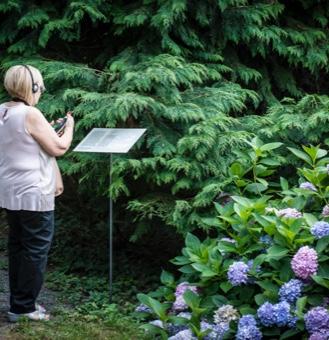 L'audio racconto in cuffia stagionale per la visita del Parco