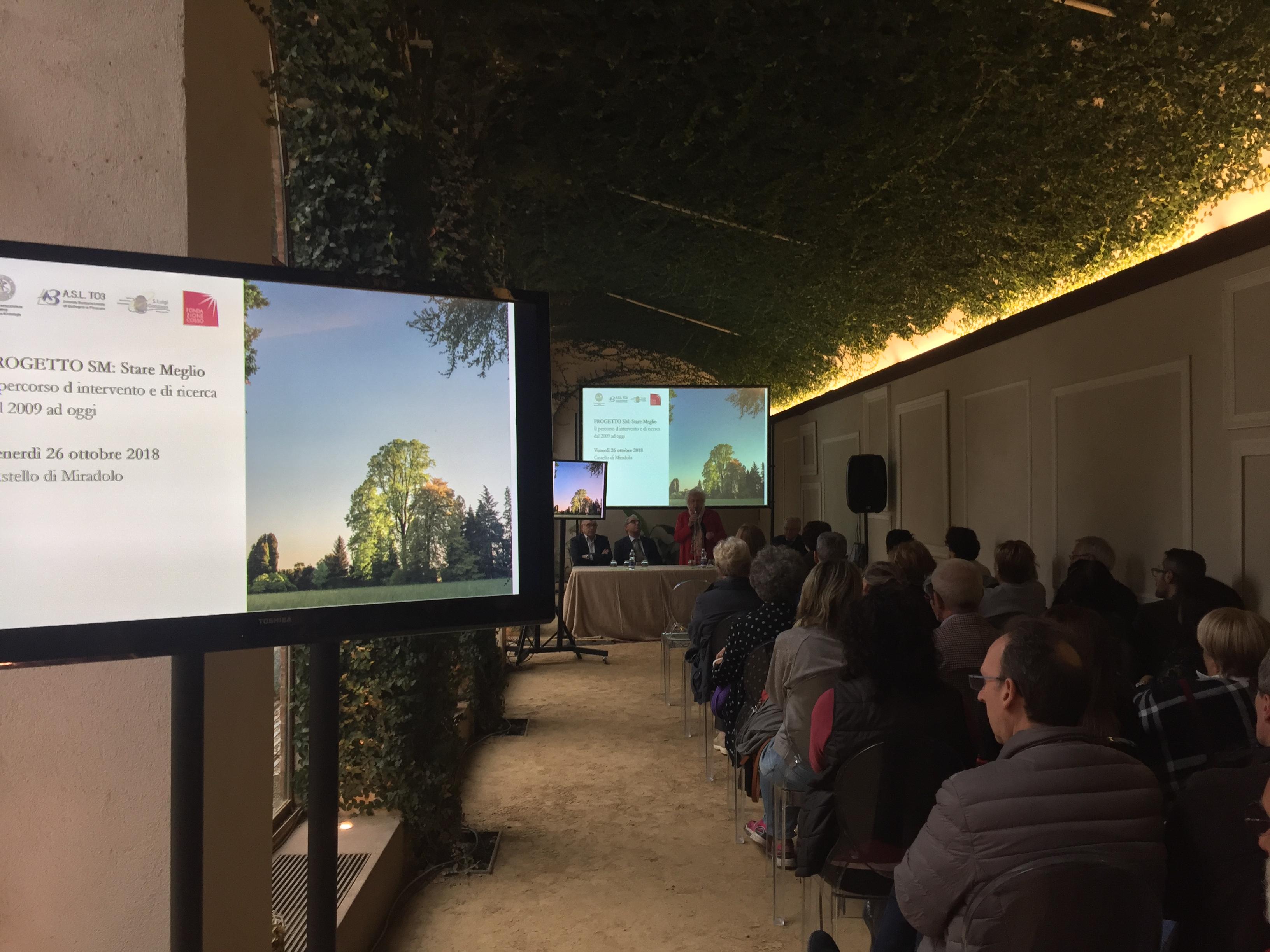 2018 I risultati sono presentati al Castello di Miradolo